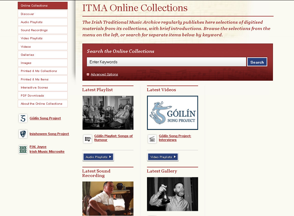 ITMA Online Collections